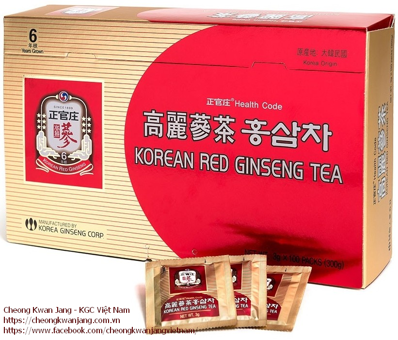 trà sâm hàn quốc korean ginseng tea