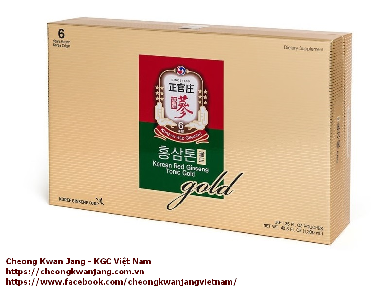 nước hồng sâm hàn quốc cheong kwan jang kgc