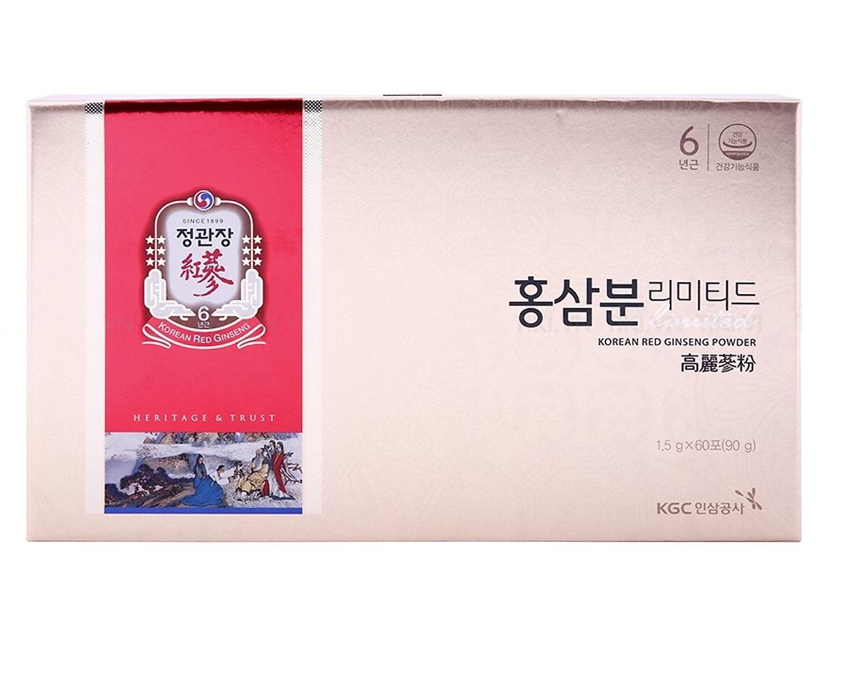 bột hồng sâm hàn quốc kgc