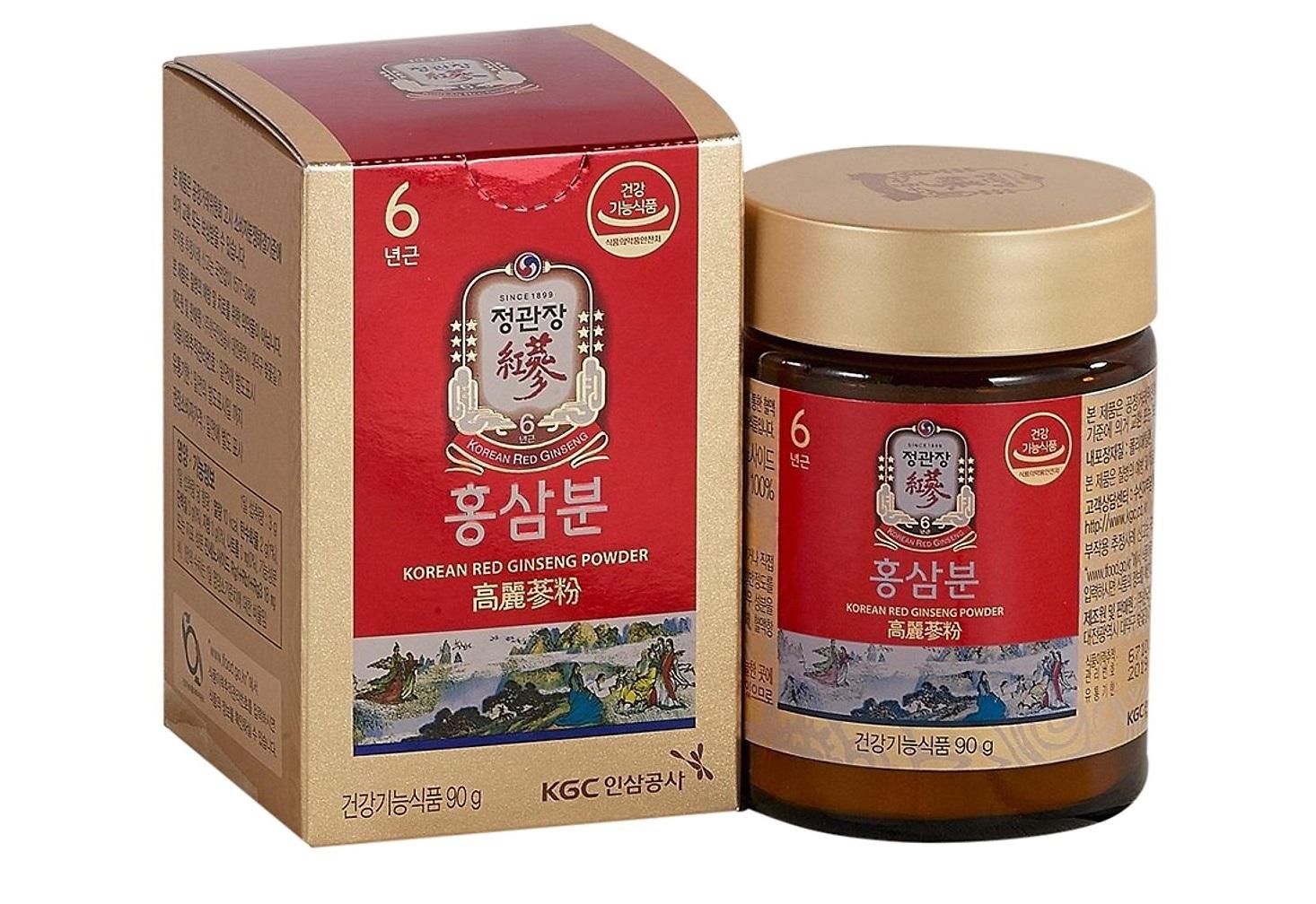 bột hồng sâm kgc cheong kwan jang