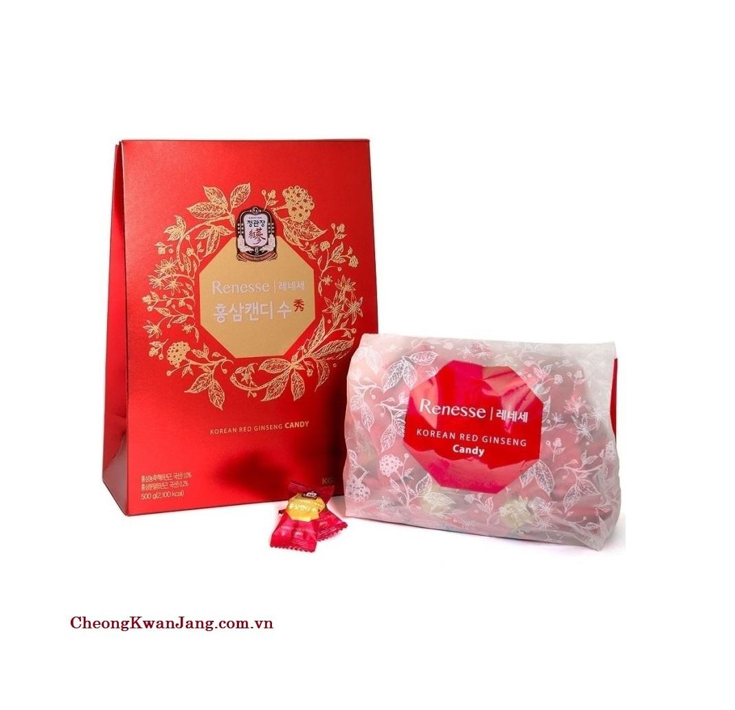 kẹo hồng sâm hàn quốc kgc 500g