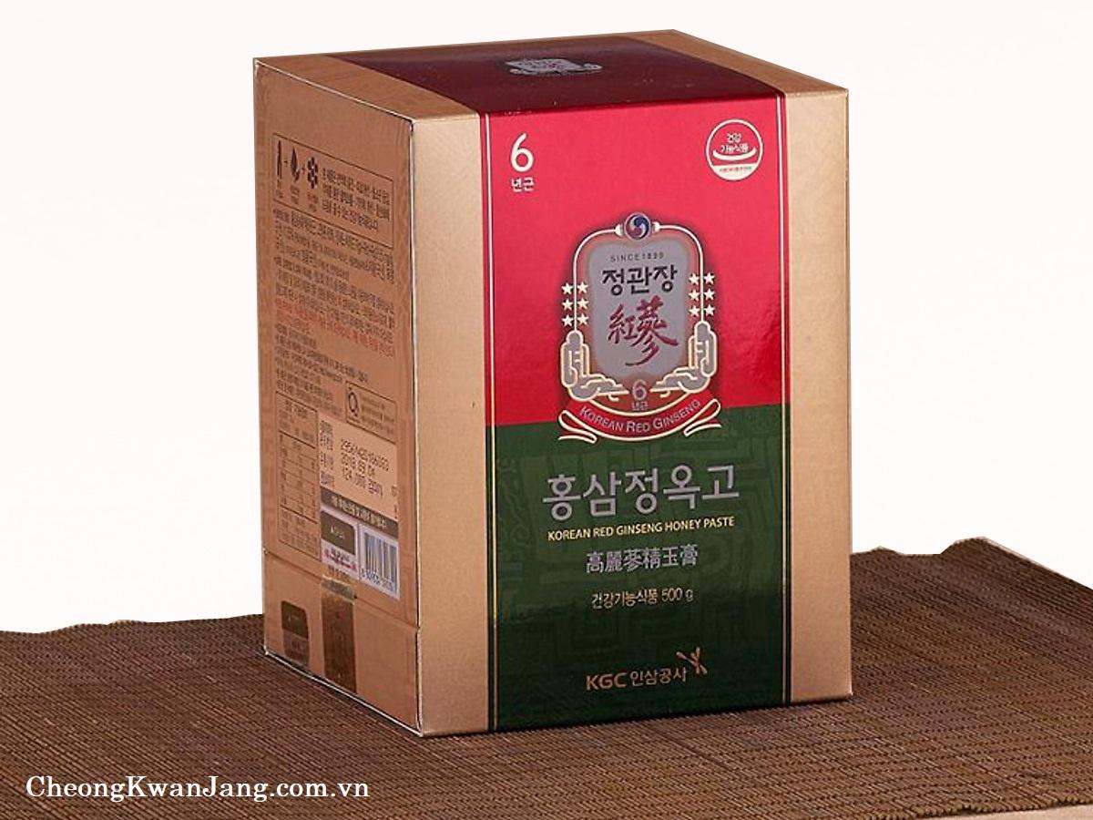 tinh chất cao hồng sâm mật ong hàn quốc kgc cheong kwan jang lọ 500g