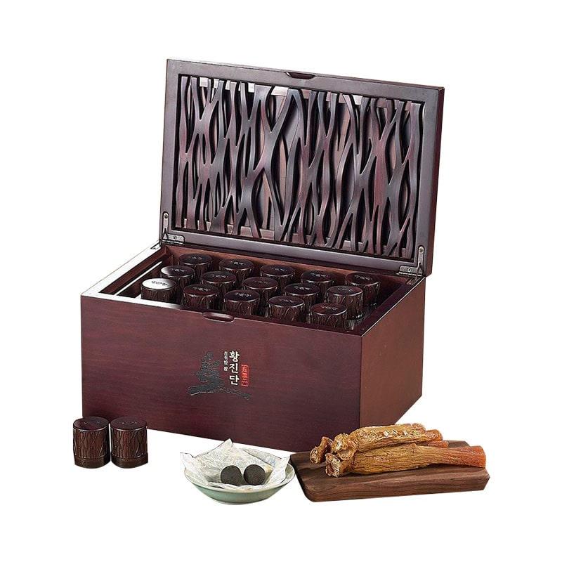 Sâm hàn quốc hộp gỗ KGC Hwang Jindan là sản phẩm gì? Có tốt không?